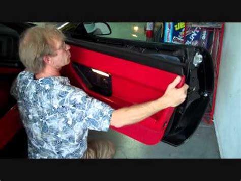 chevy corvette  bose front speaker speakers amp amplifier removal   youtube