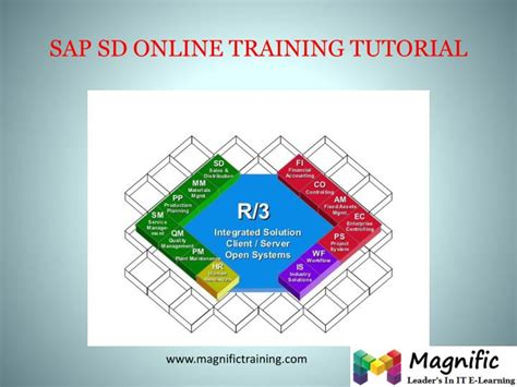 sap tutorial sd module ppt sap sd onlne training in australia powerpoint