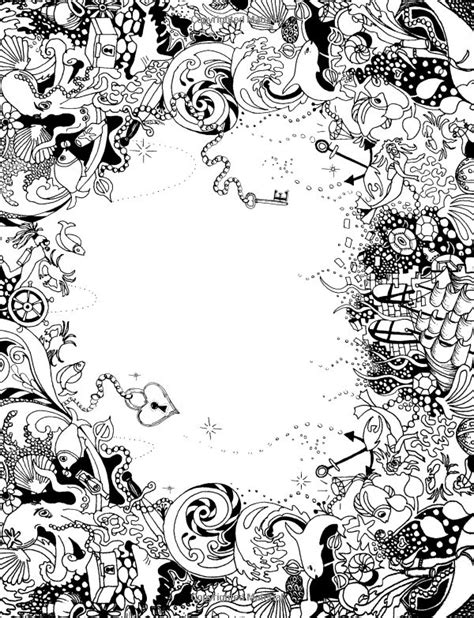 inky ocean creative colouring 861 best coloring pages images on coloring books coloring pages and doodles