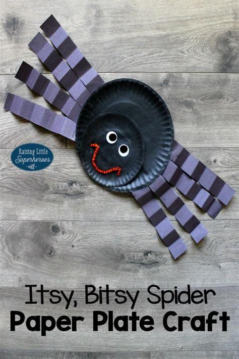 Spider Paper Plate Craft - itsy bitsy spider paper plate craft allfreekidscrafts