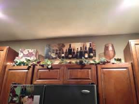 Kitchen Theme Ideas For Decorating Wine Kitchen Cabinet Decorations Home Decor Ideas