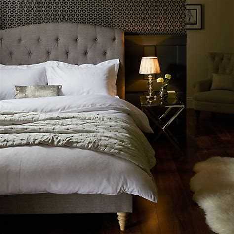 Fabric Covered Bed Frames Buy John Lewis Rouen Fabric Covered Bed Frame Double