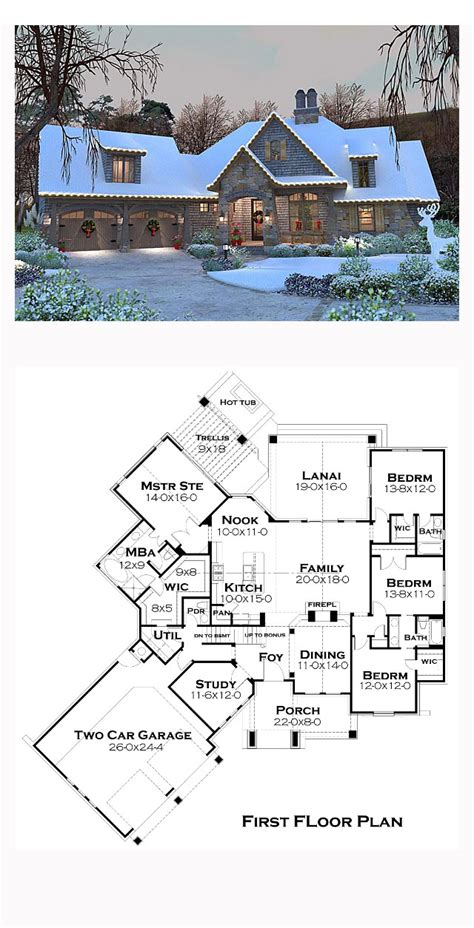 Lovely High End House Plans 3 Would You Country House Plan 75134 Total Living Area 2482