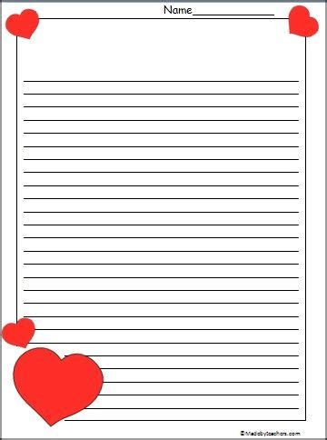 valentines day writing paper this is s day paper available free on