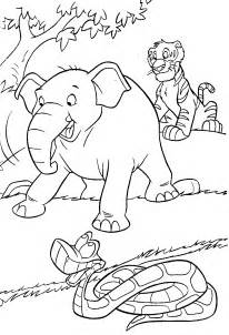 jungle coloring pages 19 coloring kids