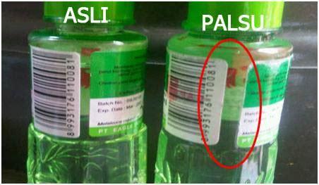 Minyak Kayu Putih Cap Lang Semua Ukuran bunda harus lebih cermat saat membeli minyak kayu putih