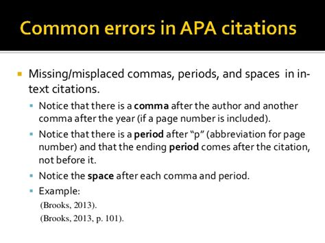 Apa Format Quotation Marks And Periods | apa format quotation marks and periods apa crash course