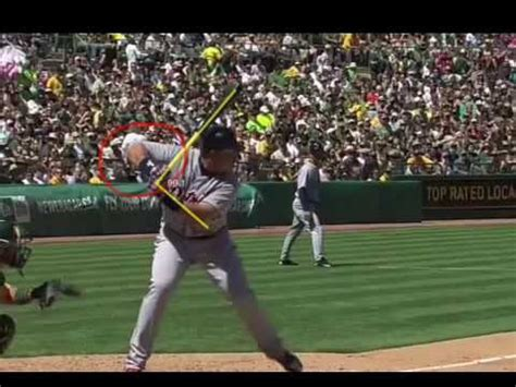 miguel cabrera slow motion swing miguel cabrera slow motion swing analysis youtube