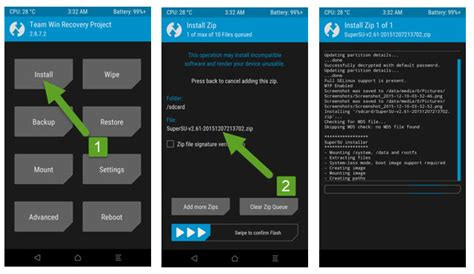 tutorial flash rom via twrp how to root samsung galaxy j3 emerge android smartphone