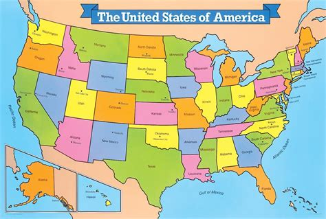us map for kid united states map thefreebiedepot