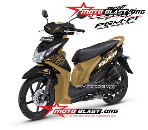 Alarm Buat Motor Beat decal design untuk honda beat fi black click motoblast