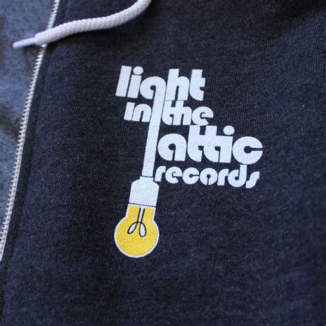 Light In The Attic Records by Light In The Attic Zip Hoodie Light In The Attic Records