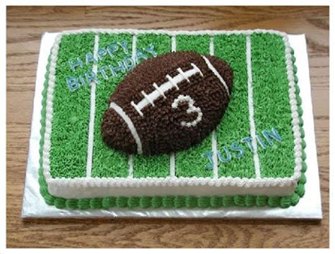 Football Cake Decorating Ideas by Inspirations January 2010