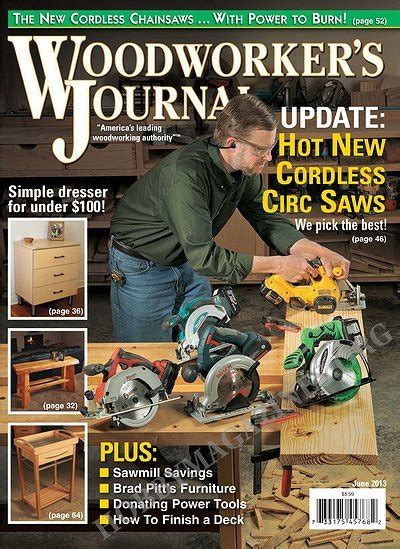 woodworkers journal magazine woodworker s journal june 2013 187 hobby magazines free