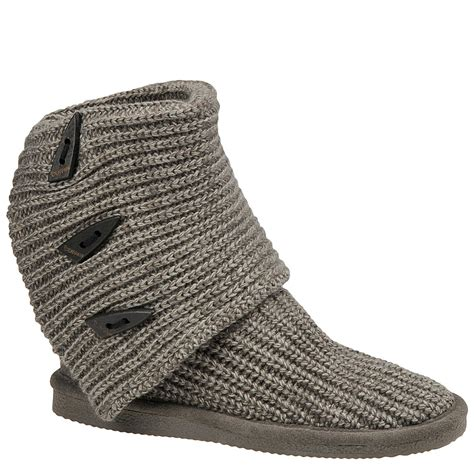 bearpaw knitted boots bearpaw knit s boot ebay