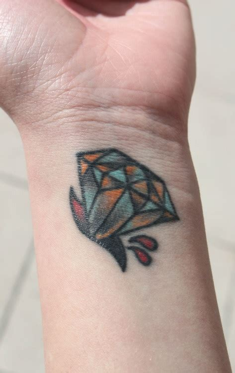diamond tattoo crismon 25 best images about hands tattoo designs on pinterest