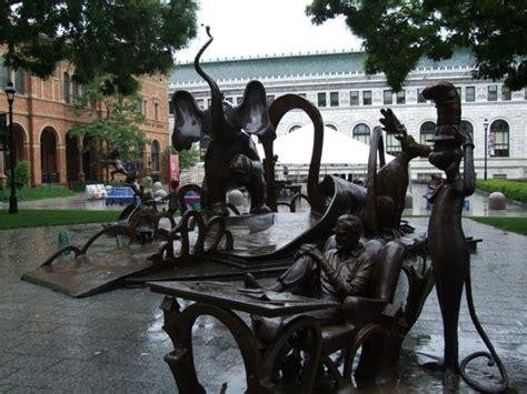 Garden Springfield Ma by Dr Seuss National Memorial Sculpture Garden