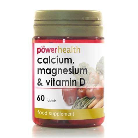 Vitamin Magnesium Calcium Magnesium Vitamin D From Power Health Wwsm