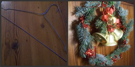 come appendere una ghirlanda alla porta ghirlanda natalizia