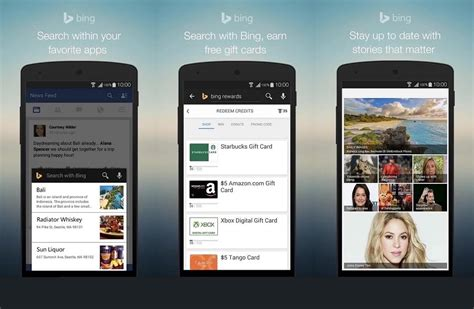 image search on android search app updated for android with new features
