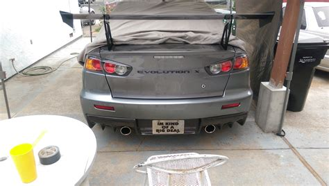 evo spoiler best looking evox rear spoiler evolutionm net