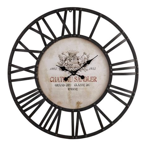 Oak Furniture Land Clocks sandler wall clock by oak furniture land