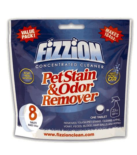 wine stain microfiber fizzion pet stain odor remover 8 tablets makes 184 oz