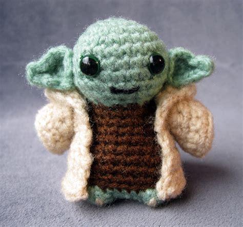 pattern crochet yoda cute star wars amigurumi handmade stuffed animals