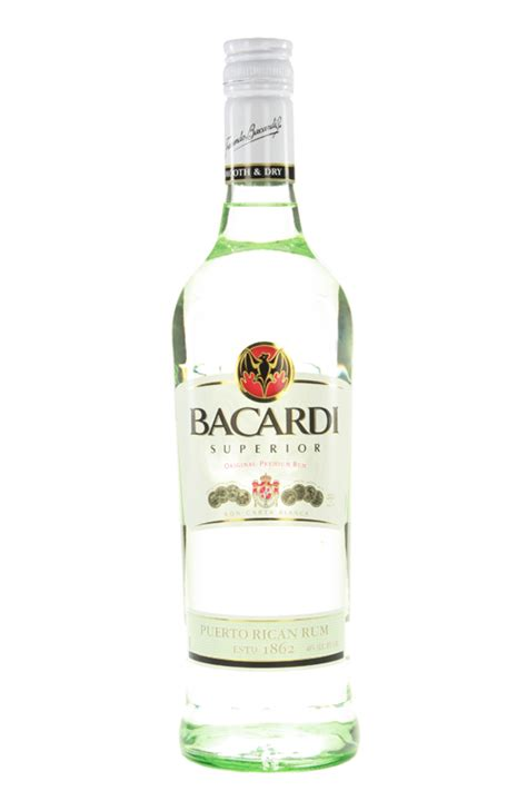 bacardi light 750ml cellar