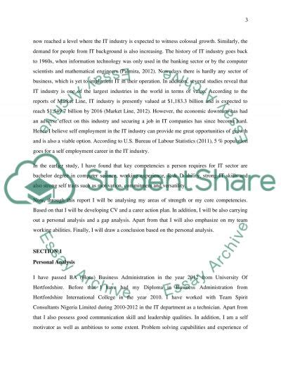 Career Reflective Essay Exles by Career Plan And Self Reflection Essay Exle Topics And Well Written Essays 1000 Words