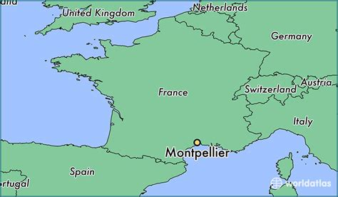 france latitude where is montpellier france montpellier languedoc