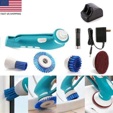 electric bathroom cleaning brush awesome electric scrubber battery powered cleaning brush