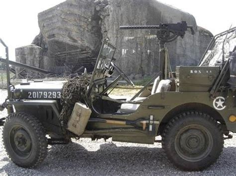 German Jeep Mb Jeep Front A German Bunker Heavy Metal