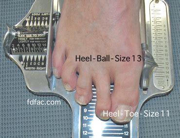 size matters heel to vs heel to toe dr sanders shoe