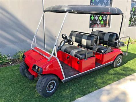 golf cart upholstery custom upholstery 2003 club car 6 passenger limo 48v golf