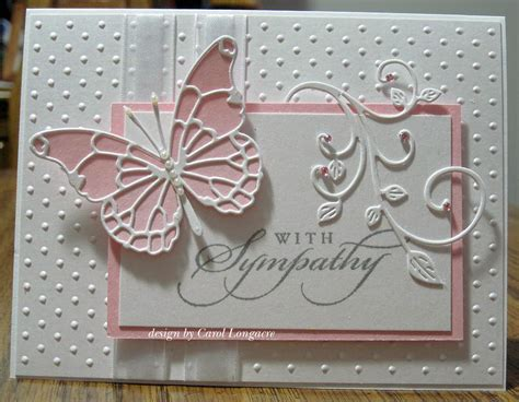 Handmade Sympathy Cards - our inspirations sympathy card