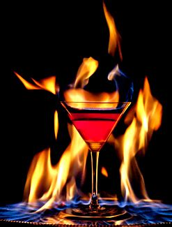 Cocktail Flaming Lamborghini The Flaming Lamborghini Fashion Most Wanted