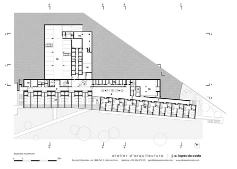 c foster housing floor plans elderly residential building atelier d arquitectura j a