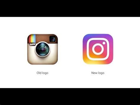 layout from instagram versi lama logo instagram baru vs lama youtube