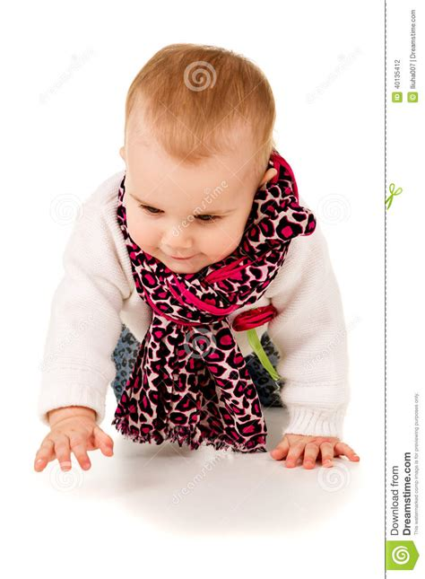 Happy Baby Crawling happy baby crawling on the floor stock photo image 40135412
