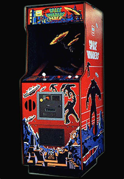 Space Invaders Cabinet by Space Invaders Part Ii Taito Rom