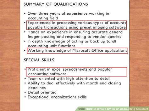charming cv for accountant assistant ideas exle