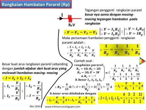 resistor seri paralel rangkaian seri dan paralel resistor