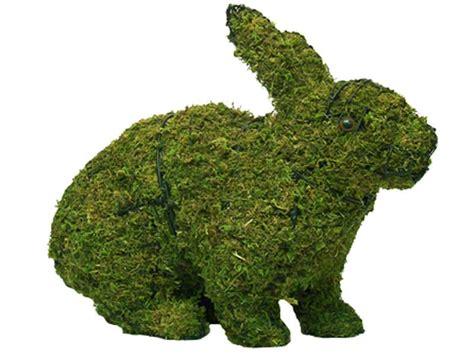 animal topiary frame hopping rabbit topiary garden frame
