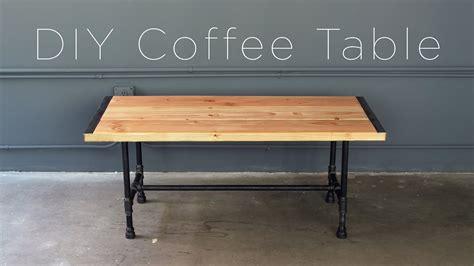 diy table diy pipe coffee table