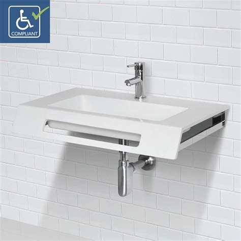 decolav ellie ssa solid surface compliant wall