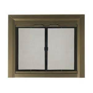 fireplace screens home depot pleasant hearth medium glass fireplace doors ct
