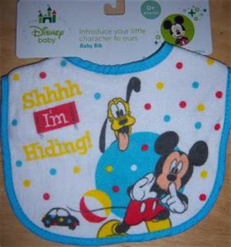 Minnie And Mickey Mouse Baby Shower by Disney Mickey Mouse Minnie Mouse Or Pluto Bib Baby