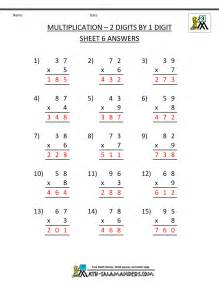 multiplication practice worksheets grade 3