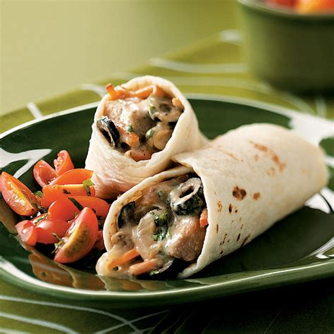 Todays Special Chicken And Goat Cheese Burritos by Pork Burritos Recipe Taste Of Home